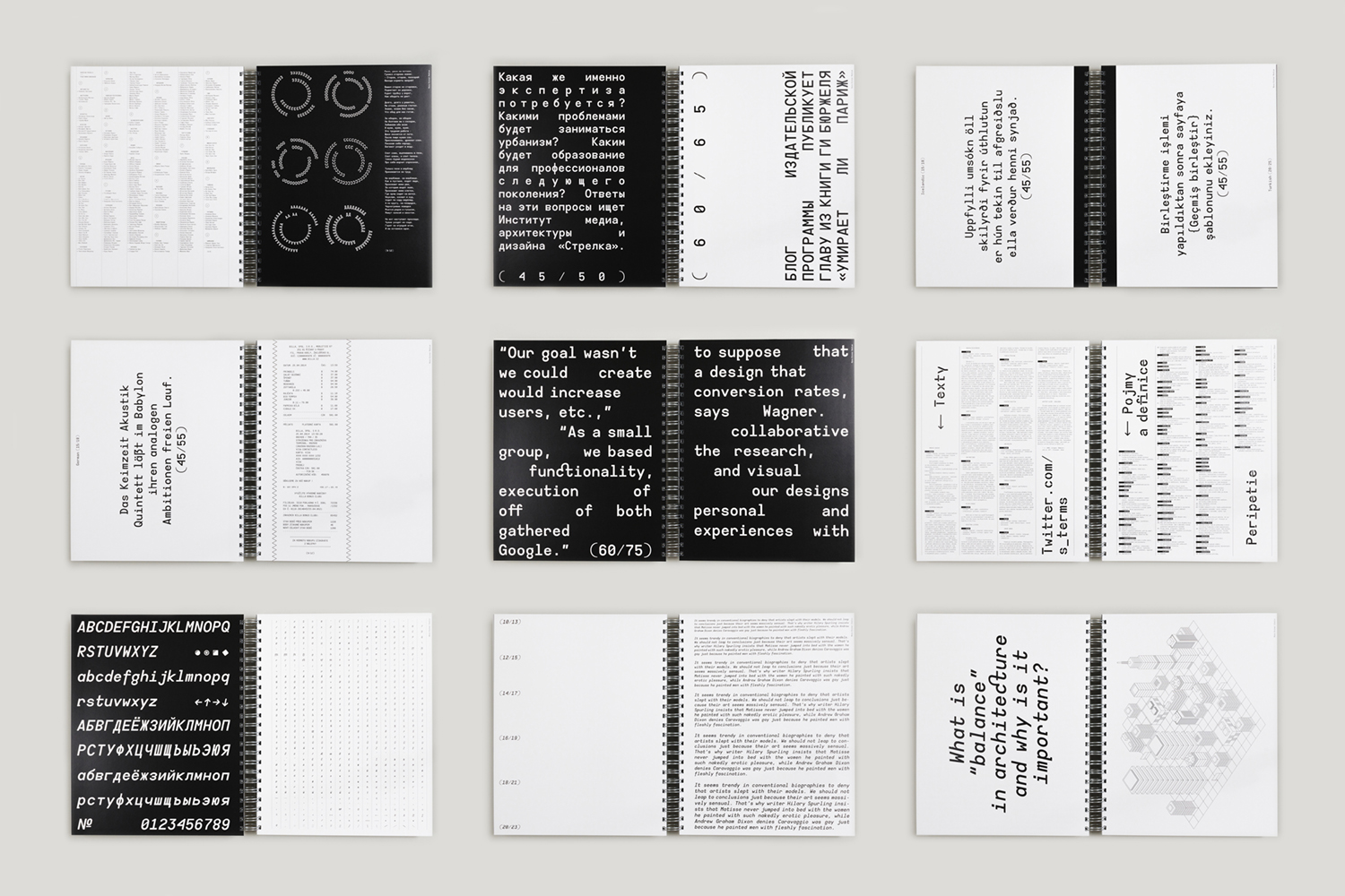 Specimen – All typeface is not available purchase